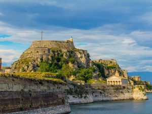 corfu luxury villa yasemia corfu sightseeings old fortress 3
