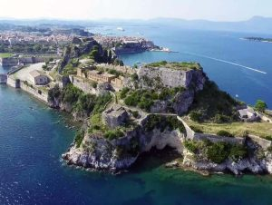 corfu luxury villa yasemia corfu sightseeings old fortress 4