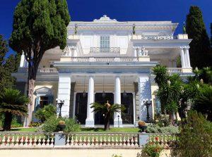 corfu luxury villa yasemia museums achilleion 2