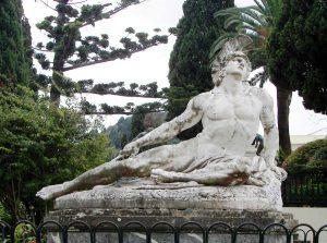 corfu luxury villa yasemia museums achilleion 4